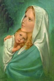 """"""" 31 Mai = 31ème Prière """" Mois de Marie offrons à notre Maman du ciel une petite couronne """" Marie118"""