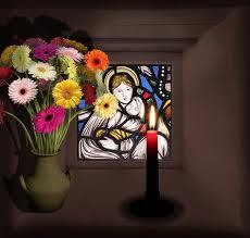 """"""" 31 Mai = 31ème Prière """" Mois de Marie offrons à notre Maman du ciel une petite couronne """" Marie_42"""