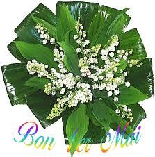 """"""" 31 Mai = 31ème Prière """" Mois de Marie offrons à notre Maman du ciel une petite couronne """" Muguet12"""