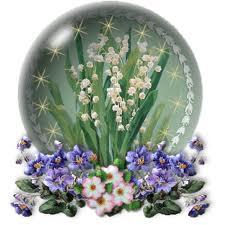""""""" 31 Mai = 31ème Prière """" Mois de Marie offrons à notre Maman du ciel une petite couronne """" Muguet19"""