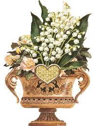 """"""" 31 Mai = 31ème Prière """" Mois de Marie offrons à notre Maman du ciel une petite couronne """" Muguet24"""