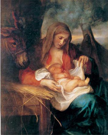 """"""" 31 Mai = 31ème Prière """" Mois de Marie offrons à notre Maman du ciel une petite couronne """" Nativi10"""