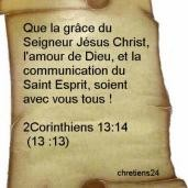 Dieu me bénit de Sa Parole : Tu comptes beaucoup à mes yeux, tu as du prix et Je t'aime (Is 43,4) Que_la11