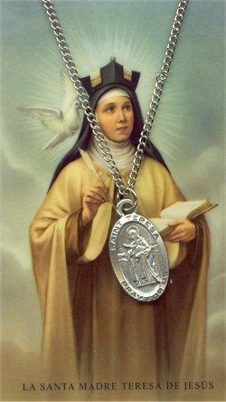 Biographie de Sainte Thérèse d' Avila Sainte17
