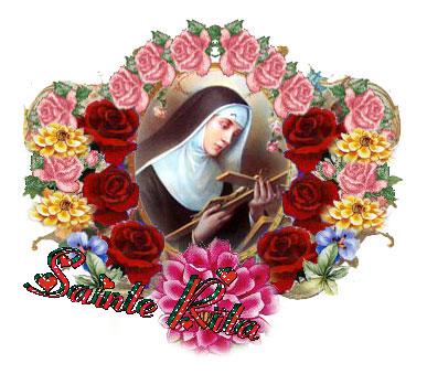 Neuvaine à Sainte Rita du 14 au 22 mai Sainte55
