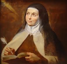 Biographie de Sainte Thérèse d' Avila St_the11