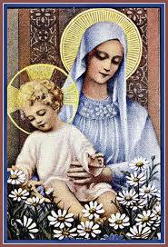 """"""" 31 Mai = 31ème Prière """" Mois de Marie offrons à notre Maman du ciel une petite couronne """" Vierge11"""