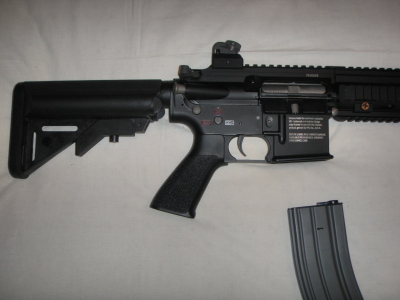 =HK 416 Classic Army= P9081818