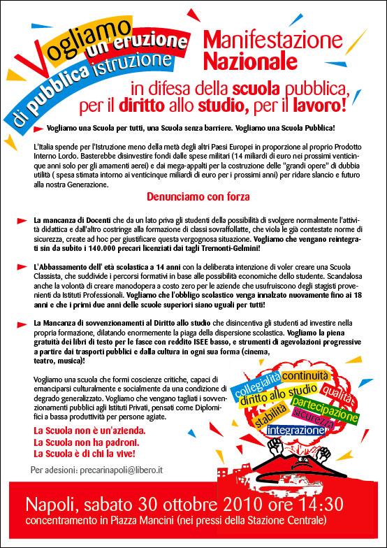 MANIFESTAZIONE NAZIONALE NAPOLI 30 OTTOBRE - Pagina 2 Flyer_17