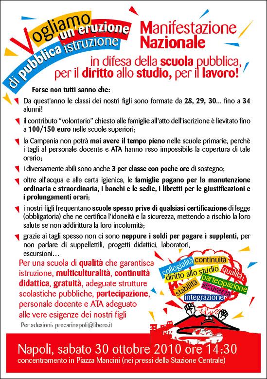 MANIFESTAZIONE NAZIONALE NAPOLI 30 OTTOBRE - Pagina 2 Flyer_18