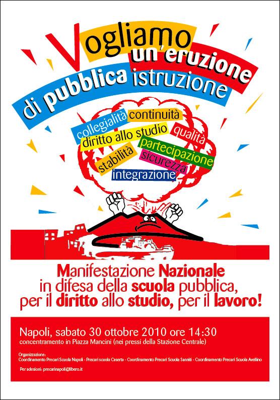 MANIFESTAZIONE NAZIONALE NAPOLI 30 OTTOBRE - Pagina 2 Manife11