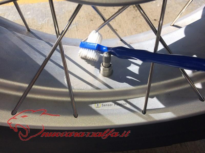 BMW K50 R1200GS LC pulizia accurata cerchi a raggi (opzionali) NO K51 ADV! Img_8811