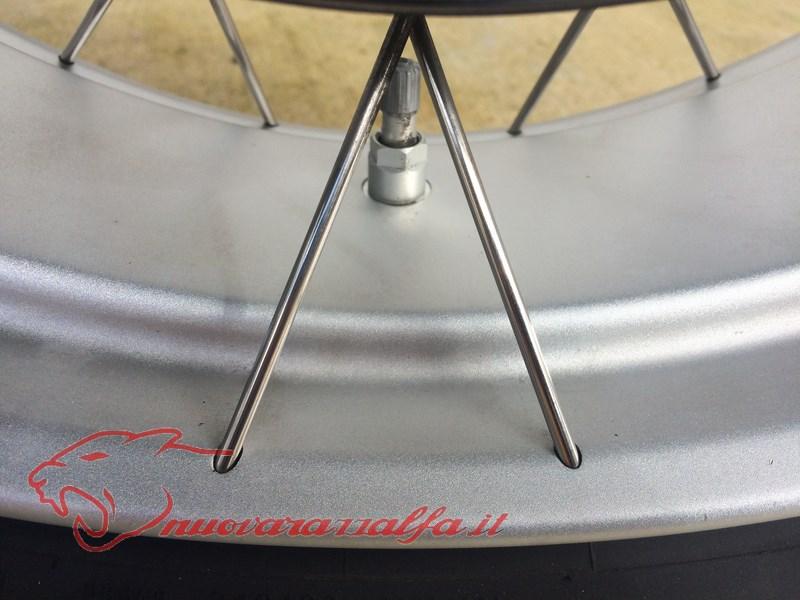 BMW K50 R1200GS LC pulizia accurata cerchi a raggi (opzionali) NO K51 ADV! Img_8818