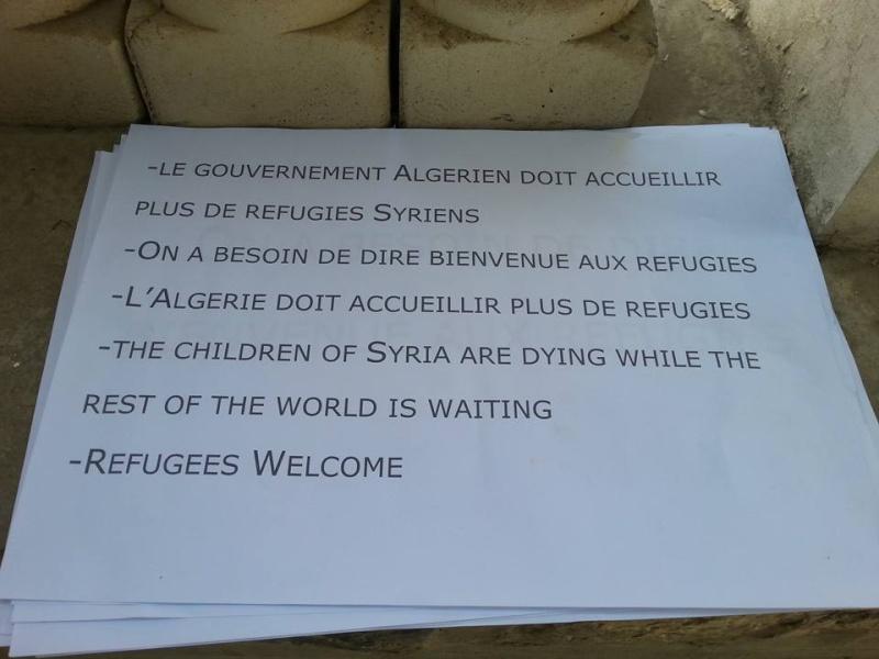 Rassemblement de Soutien aux réfugies Syriens à Aokas Samedi  12 Septembre 2015  - Page 4 159