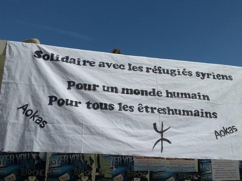 Rassemblement de Soutien aux réfugies Syriens à Aokas Samedi  12 Septembre 2015  - Page 4 168