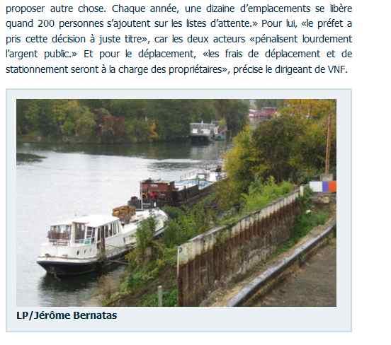 Péniches le long de la Seine Clipb112