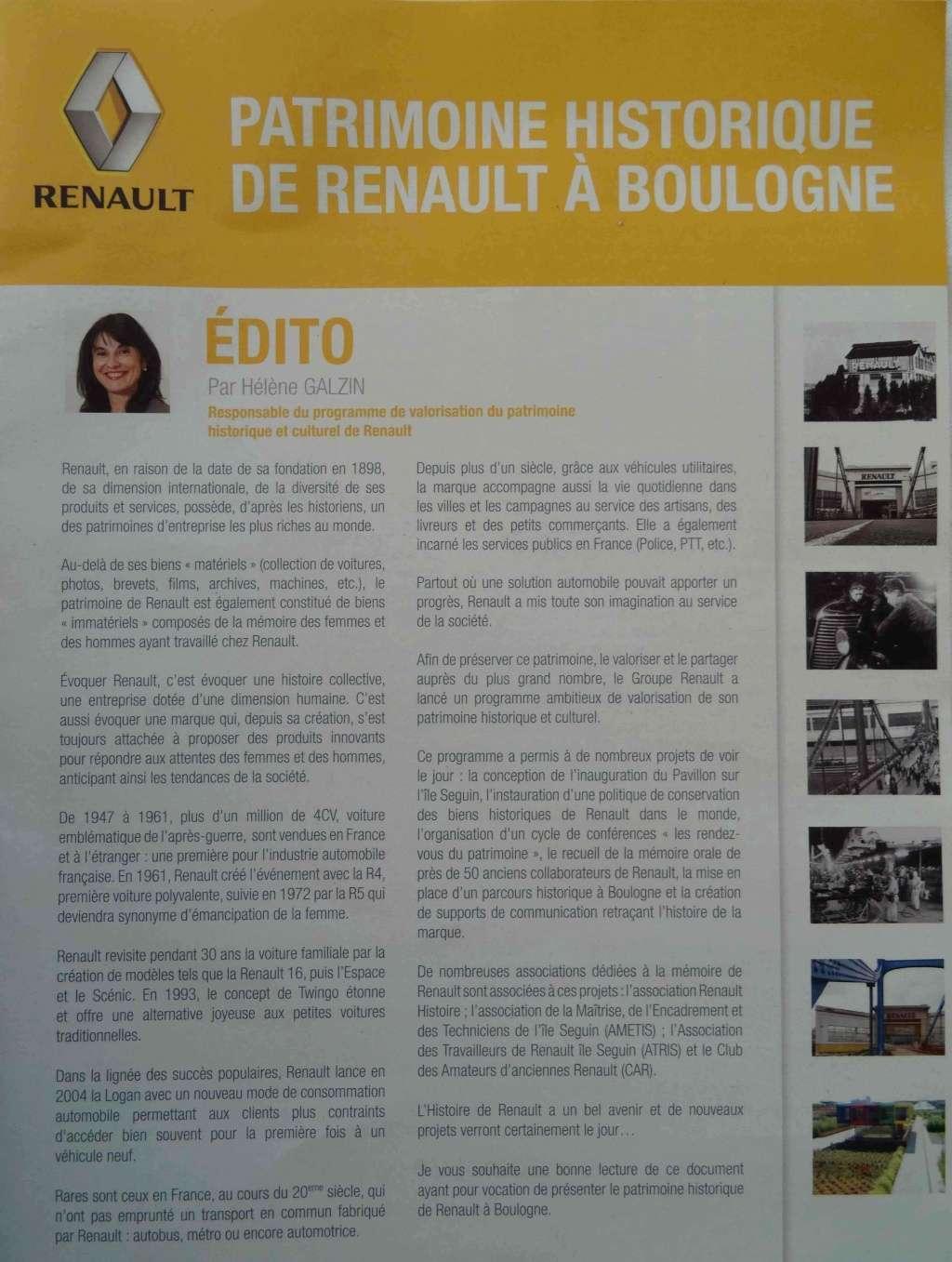 Histoire Renault Boulogne-Billancourt Dsc01413
