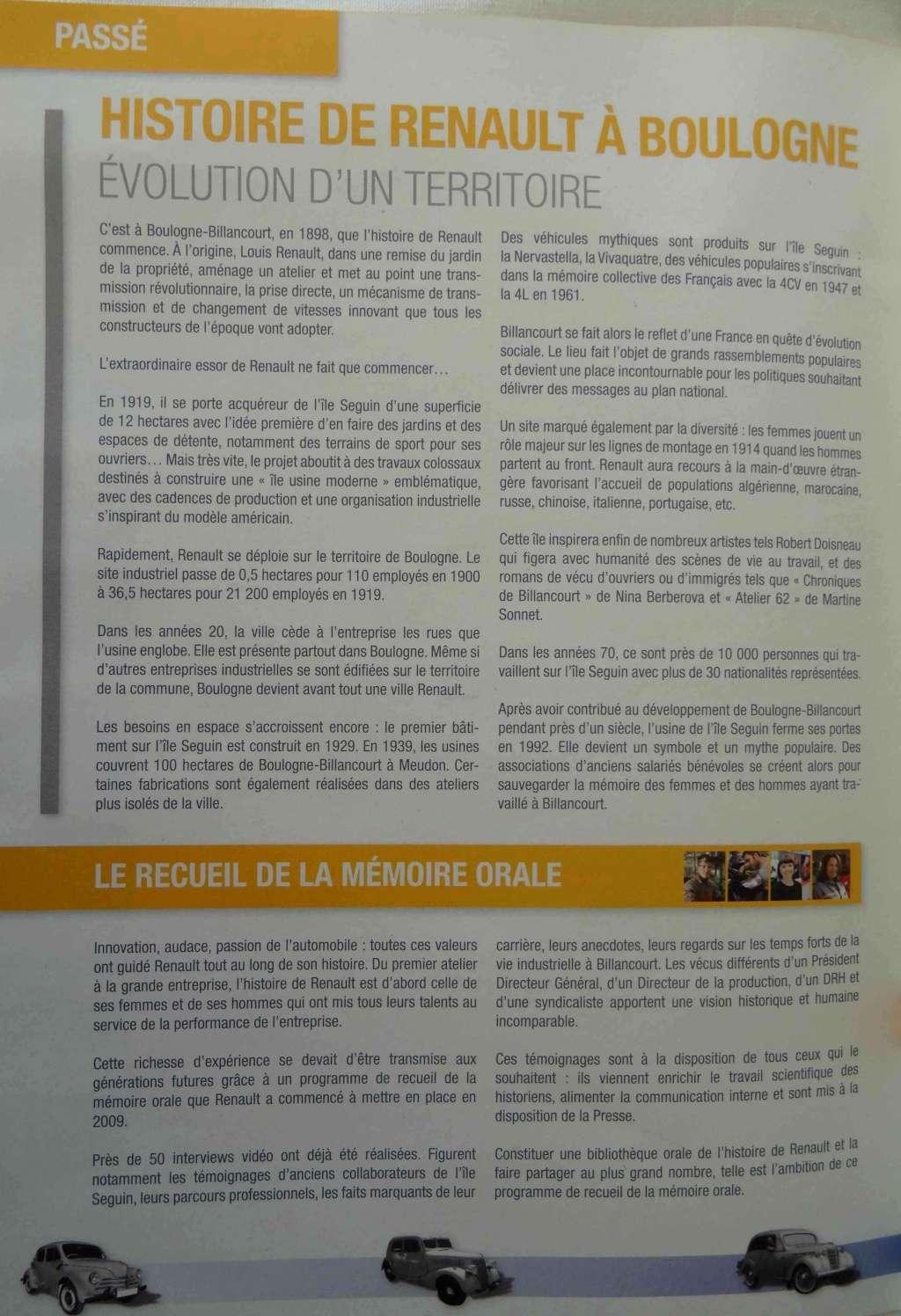 Histoire Renault Boulogne-Billancourt Dsc01415