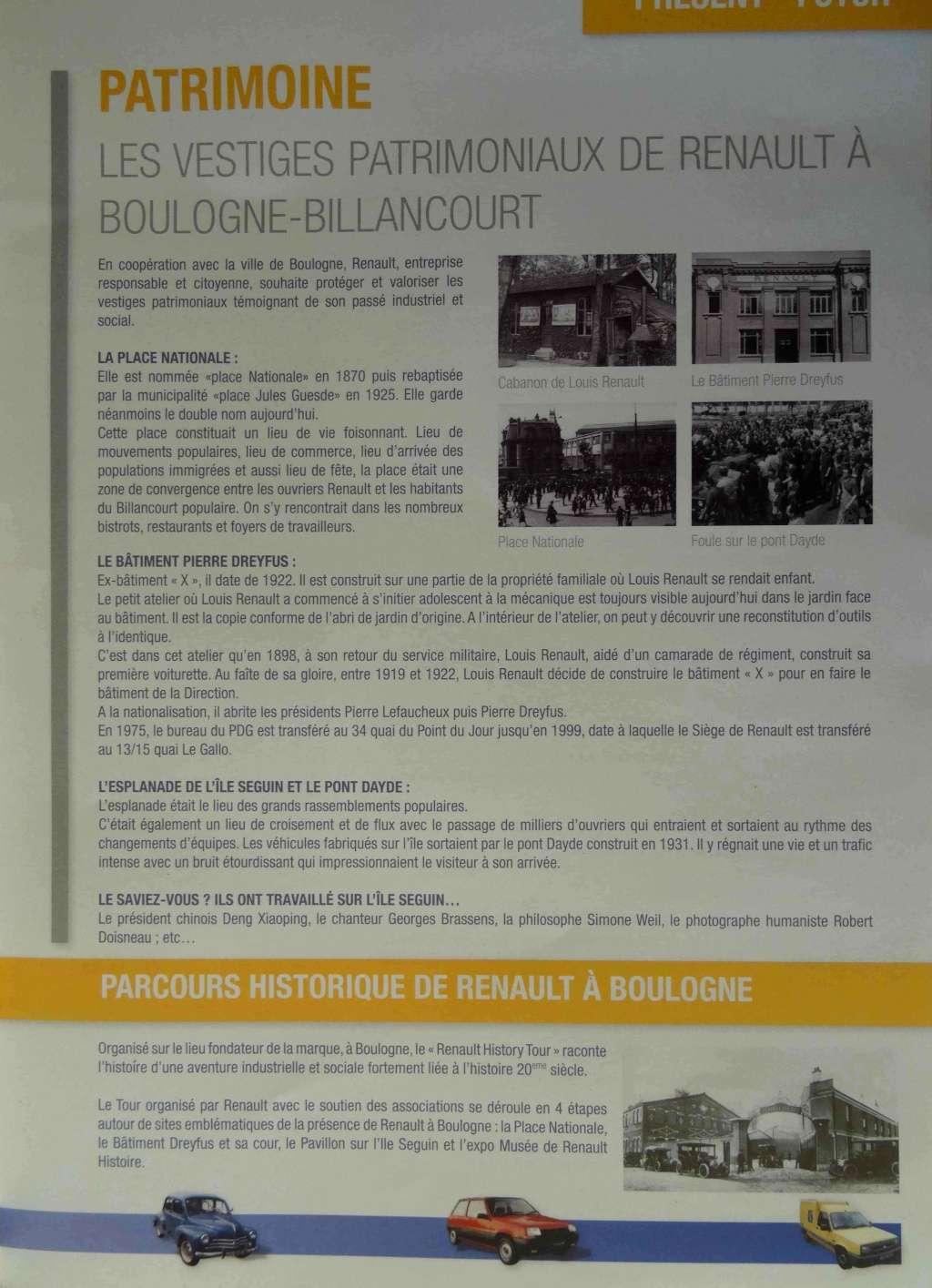 Histoire Renault Boulogne-Billancourt Dsc01416