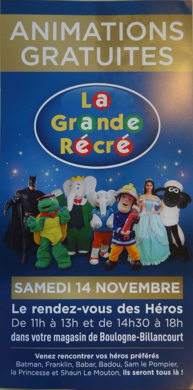 Loisirs La Grande Récré Dsc02911
