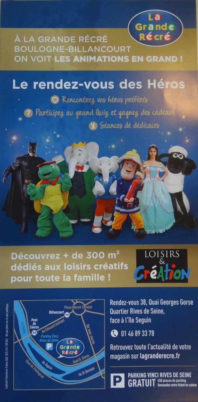 Loisirs La Grande Récré Dsc02913