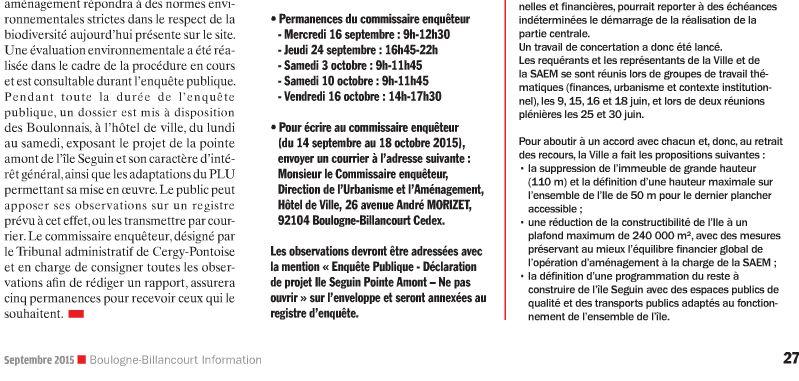 Aménagement de l'île Seguin - PLU - Page 2 P27_210