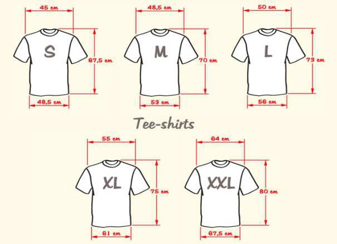 Tee-shirt 2015 2015-110