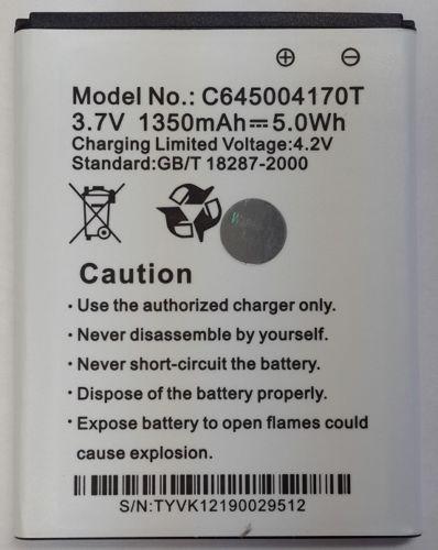 BLU Adanvance 4.5 A310 Battery  C645004170T 121