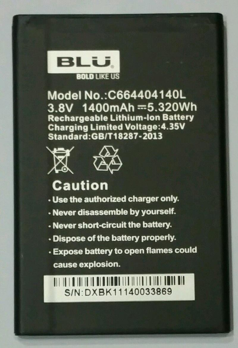 BLU Life Play Mini L190 Battery C664404140L ML-BL011 124