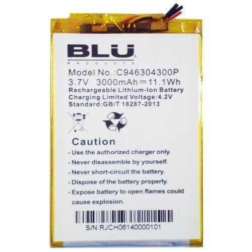 BLU Studio 6.0 HD D650 Battery C946304300P 126
