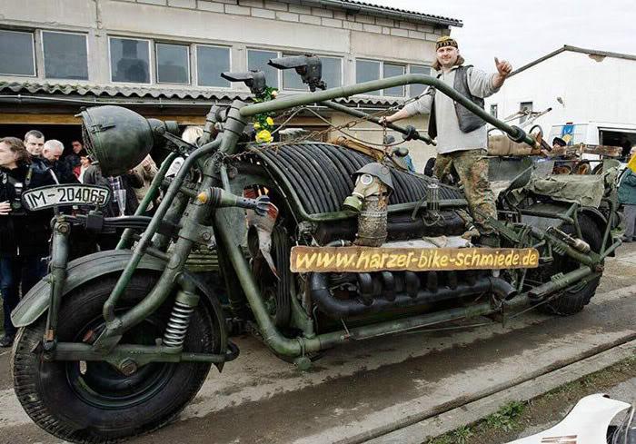 Encore la bêtise parisienne : interdire moto d'avant 2000, voiture avant 97 - Page 3 German10