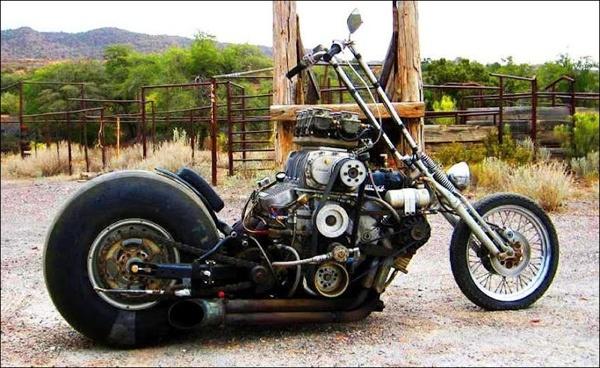 Custom Culture : bikers qui manifestent pour leurs accessoires personnalisés  Rat_s10