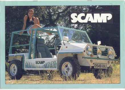 Wanted: Scamp Grill Badge 110