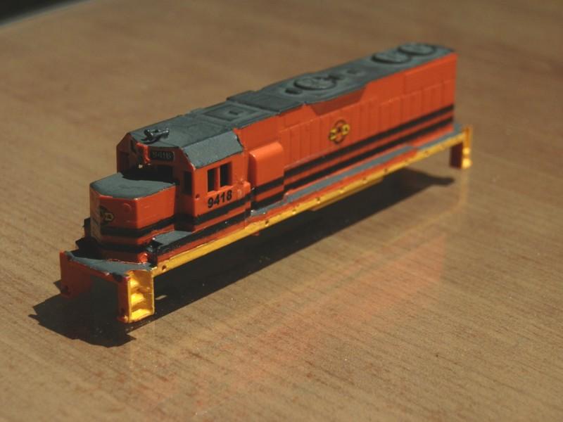 Déco GP38-2 Ferrocarril Chiapas Mayab / Genesee & Wyoming P9210010
