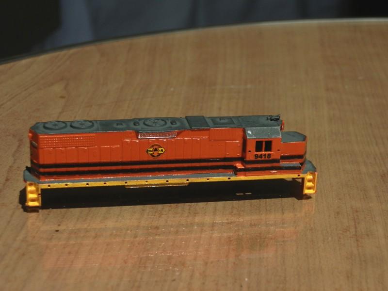 Déco GP38-2 Ferrocarril Chiapas Mayab / Genesee & Wyoming P9210110