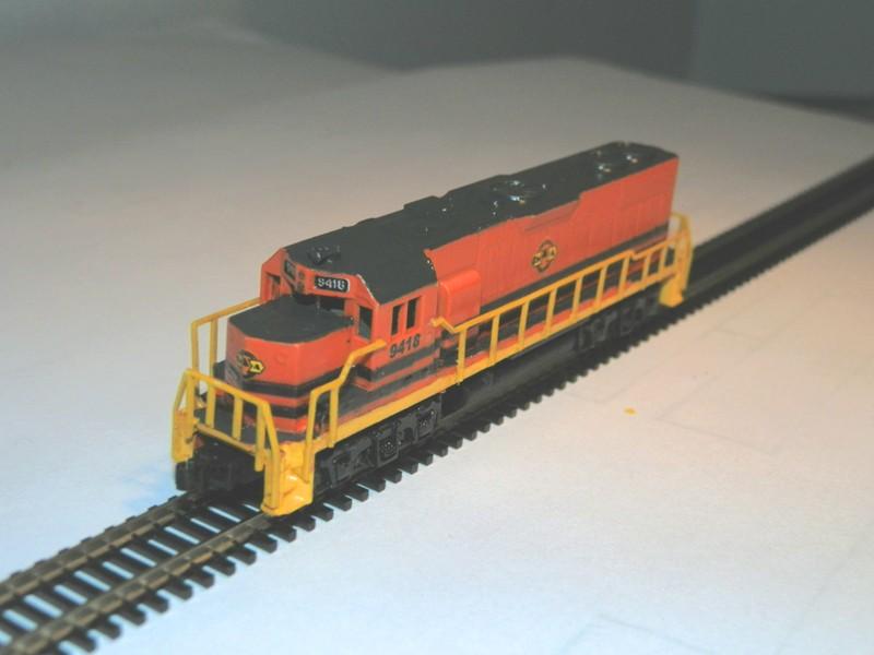 Déco GP38-2 Ferrocarril Chiapas Mayab / Genesee & Wyoming P9280111