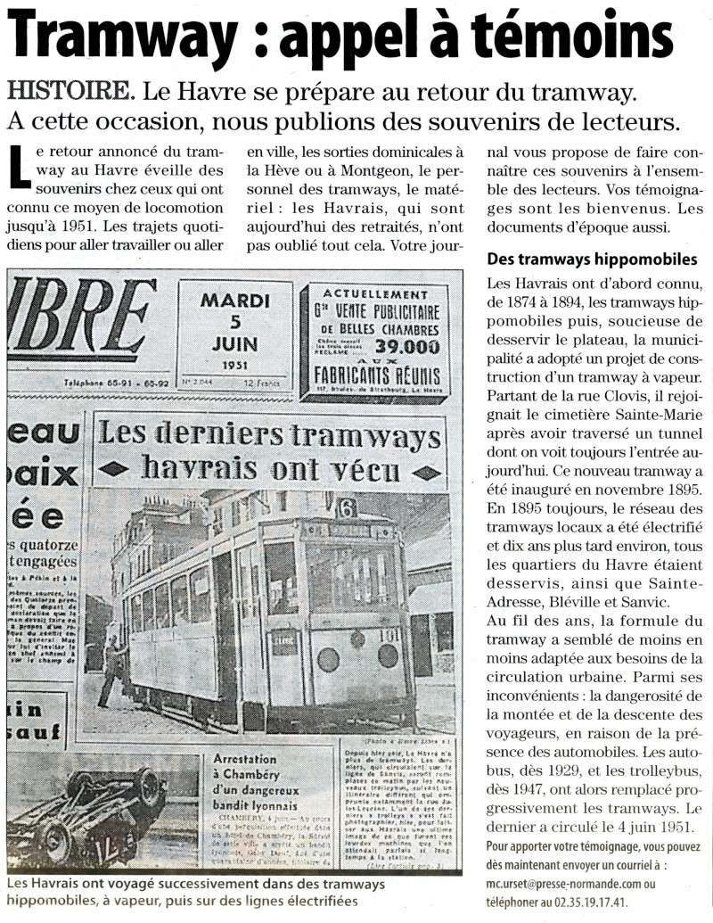 Ebran - Témoignages sur le tramway du Havre 2009-010