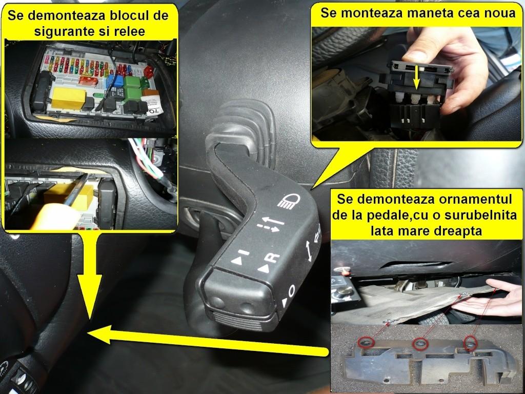 Tutorial montare/activare cruise control pe Vectra B Z16XE 410