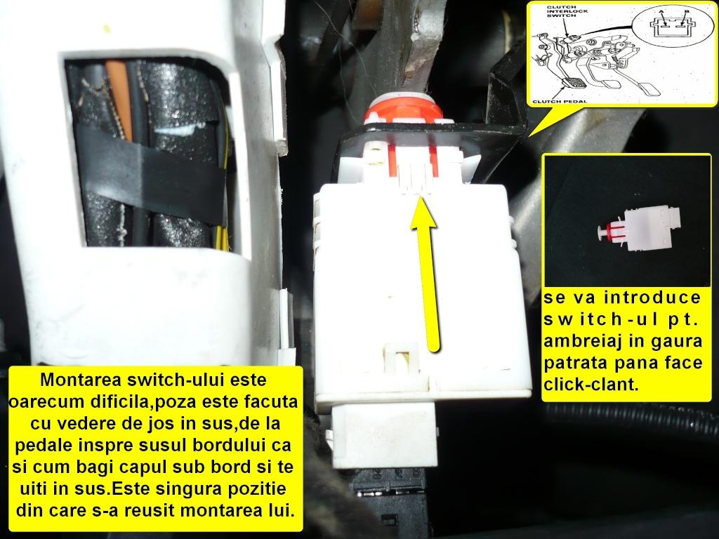 Tutorial montare/activare cruise control pe Vectra B Z16XE 510
