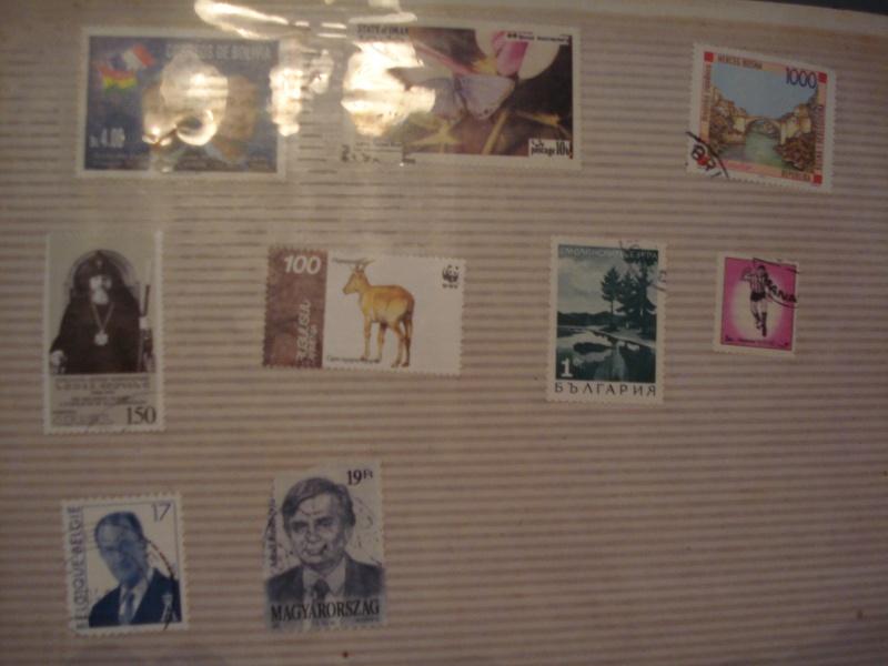 Filatelija -kolekcija poštanskih markica Dsc03725