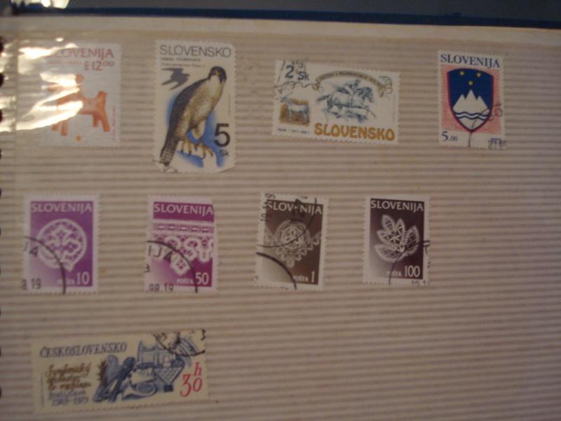 Filatelija -kolekcija poštanskih markica Dsc03726