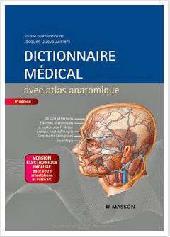 قاموس طبي فرنسي مصور  Dictionnaire Médical avec atlas anatomique Screen30