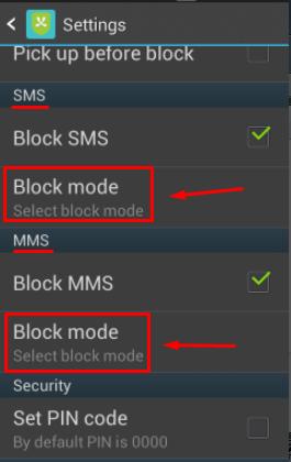 تطبيق لمنع المكالمات المجهولة + أرقام أو رسائل معينة من الإتصال بك ومزايا أخرى - Android Screen39