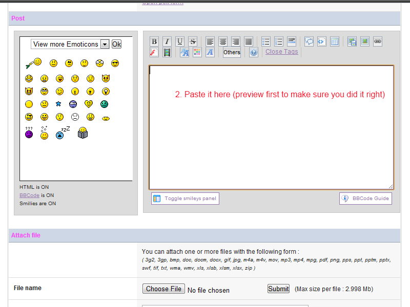 [forum tutorial]  How to embed 4shared stuff in your posts Paste_11