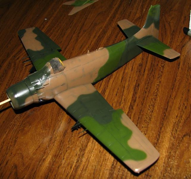 F-104G and Skyraider - in progress Img_4015