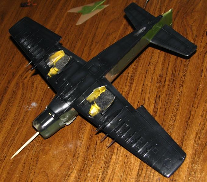 F-104G and Skyraider - in progress Img_4016