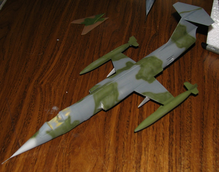 F-104G and Skyraider - in progress Img_4110