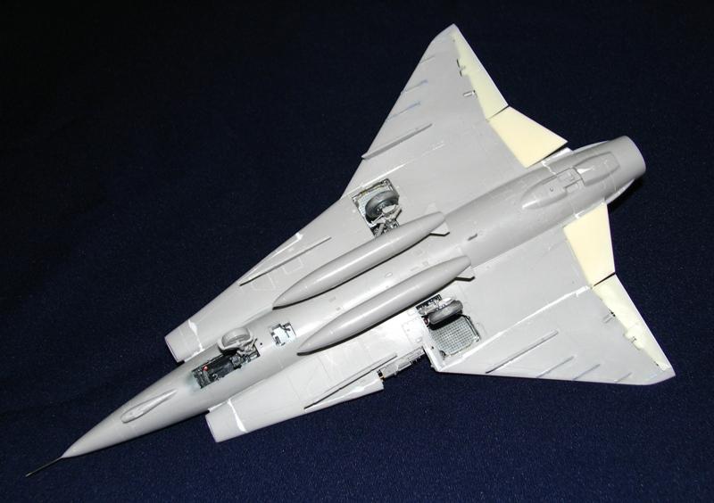 Saab J-35J Draken - minor update. Img_4120