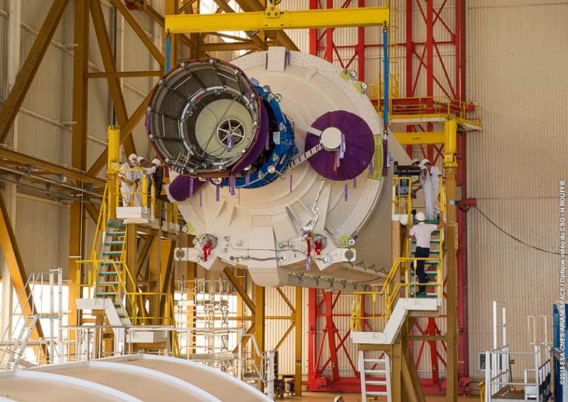 Lancement Ariane 5 ECA VA227 / ARABSAT 6B & GSAT 15 - 10 Novembre 2015  1346-110