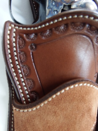 """COWBOY ACTION SHOOTING """"ROUGH OUT"""" HOLSTER by SLYE Dscf2857"""